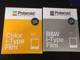 i-Type Film Polaroid originals IMPOSSIBLE project