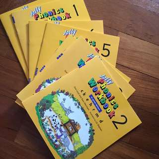 Jolly Phonics Exercise book. 1-7