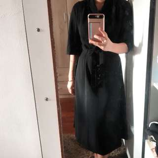 Dress material chiffon thick,medium to L can used