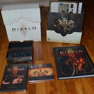Diablo 3 collector edition accessories only