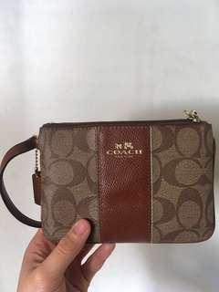 Coach classic 小袋 小包 零錢包 小錢包 coins purse