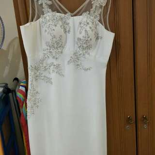 Dress party white