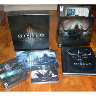 Diablo 3 collector accessories only