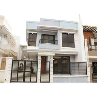 BRAND NEW 2 STOREY SINGLE ATTACHED HOUSE AND LOT IN BF RESORT VILLAGE LAS PINAS