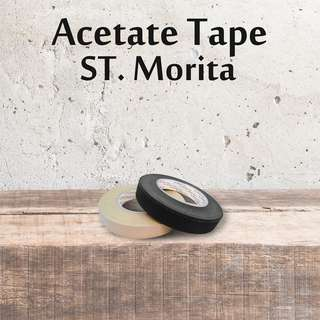 ST. MORITA - Acetate Tape 24 mm - Black