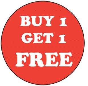 Figurines. Buy 1 get 1 free