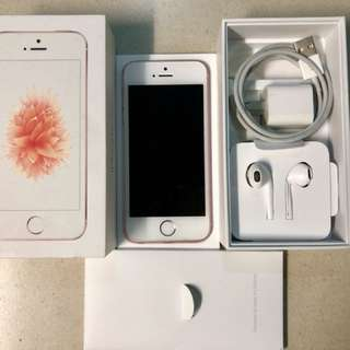 Iphone SE Rosegold 16GB