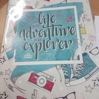 A5 Yearly Planner Book