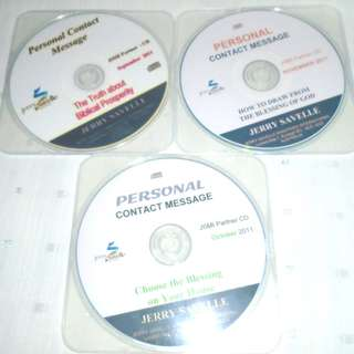 Charity Sale! Set of 3 Jerry Savelle Teachings Audio Digital CD Kenneth Copelands Friend
