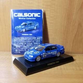 京商 Kyosho 1/64 - Calsonic Nissan Primera (P11, JTCC 1994)