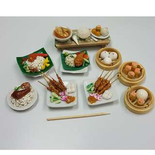 Handmade Miniature Food
