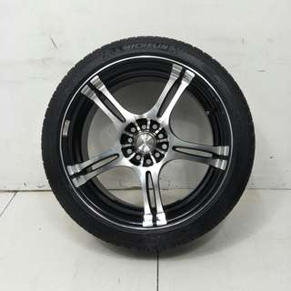 18 '' Sport Rim With Tyre 5x100 5x114.3 (SR936)