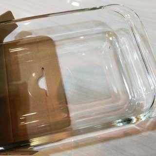 🚚 1公升 長方形玻璃烤盤