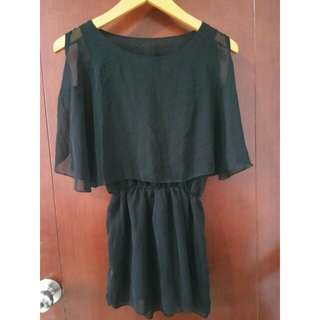 Baju atasan dress Sifon batwing top