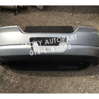 Rear Bumper Nissan Latio C11 Tiida Hatchback Japan