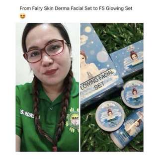 Fairy Skin Glowing Facial Set