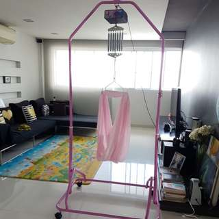 Polar Automatic Electronic Baby Cradle / sarong (Full set)