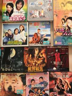 VCDs Korean Japanese Taiwan Hong Kong
