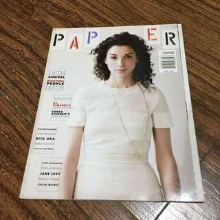 ST. VINCENT Paper Magazine