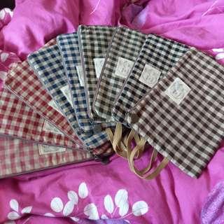 Korean Soft cloths bag for multi propose