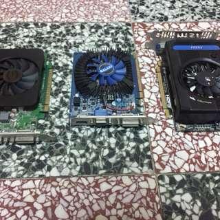 (隨便買)三張都是NVIDIA Geforce GT630