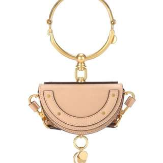 Chloe Nile Half Look Leather Bag (PO)