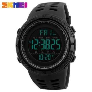 夜光運動電子錶多功能 防水錶