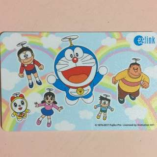Limited Edition brand new Doraemon design ezlink card for $12.