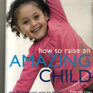 How To Raise An Amazing Child the Montessori Way retails $41.75