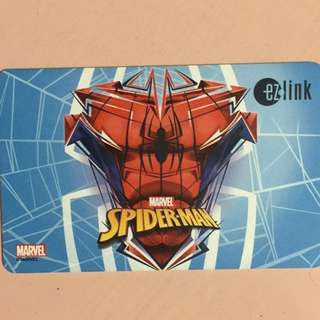 Brand new limited Edition Marvel Spider-Man Design ezlink card for $12.
