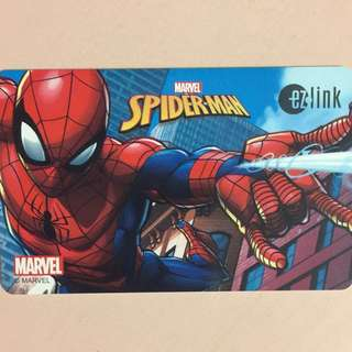 Limited Edition brand new Spiderman Design ezlink card for $13.90.