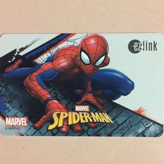 Brand new limited Edition Spider-Man ezlink card for $13.90.