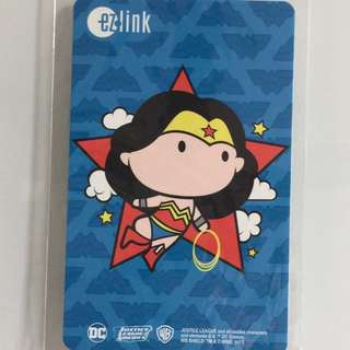 Limited Edition brand new DC Comics Wonder Woman Design ezlink Card For $15.