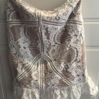 New lace skirt 8-10