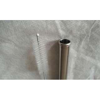 316 防刮 舌圈 不鏽鋼吸管 1.2cm 珍奶 奶茶 吸管 21.5cm 附專用 毛刷