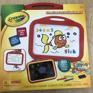 Crayola Creative Fun 2-sides Board