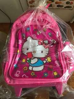 Hello Kitty trolley School Bag