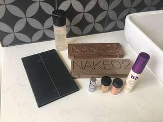 Various makeup- Urban Decay, MAC, Zoeva