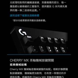 Logitech g610 cherry mx
