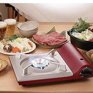 Iwatani slim gas cooker,red color