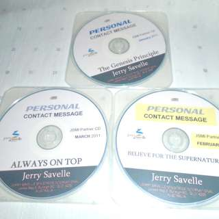 Charity Sale! Set of 3 Jerry Savelle Teachings Audio Digital CD Kenneth Copeland Friend
