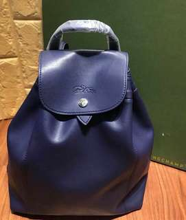Longchamp Leather Backpack 🎒   Replica
