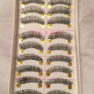 Mink eyelash strips