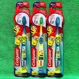 Colgate Kids Toothbrush, Minion 5-9yrs (UP$3.50)