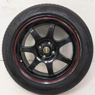 16 '' Sport Rim With Tyre 4x100 (SR938)