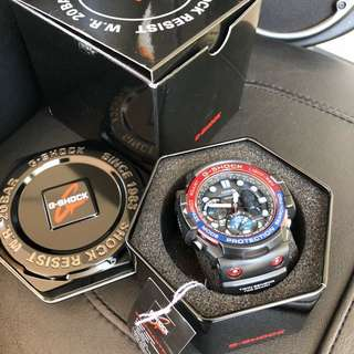 Original Authentic GN-1000 G-Shock Gulfmaster Blue Red Series! Casio Sale Offer Brand New Full Box! Limited Stock First Come First Served 😎👍