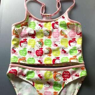 BN Zara Sanrio Hello Kitty Swim Wear