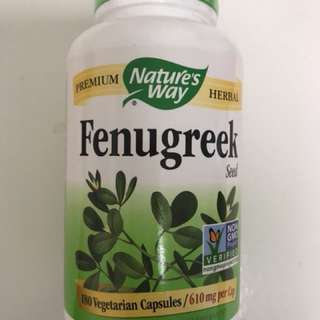 Fenugreek 葫蘆巴 發奶 增奶 餵奶 母乳supplement
