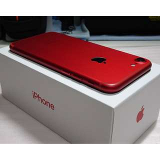 iPhone 7 128GB Red / iPhone7 128G 紅 (Ref:7R-128)