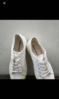 Superga White Shoes Size 7.5